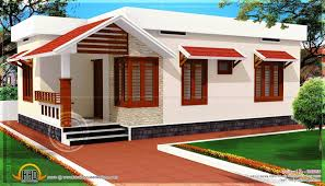 Cute Small House Plans Cute Small House Design In 1011 Square Feet Kerala Home In 13