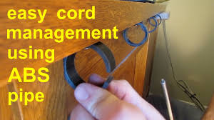 Cable Organizer Desk by Diy Simple Cable Cord Management Tv Computer Stereo Gaming