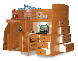 Play Bunk Beds Berg Furniture Play And Study Loft Bed With Computer Desk