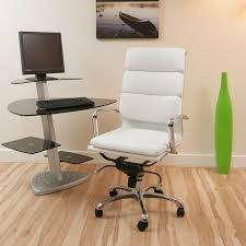 White Modern Desk Chair Best White Swivel Desk Chair Design Ideas And Decor
