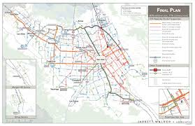 Muni Bus Map San Jose Silicon Valley A New Bus Network U2014 Human Transit