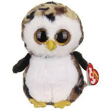 ty beanie boos ty owliver medium beanie boo ty toys