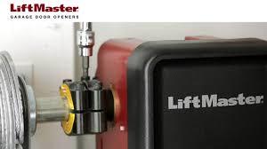liftmaster garage door dealers how to tighten the collar on a model 8500 garage door opener youtube