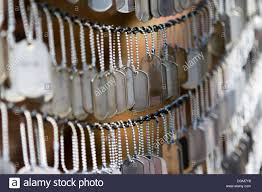 remembrance dog tags dog tags of fallen soldiers in afghanistan and iraq the memorial