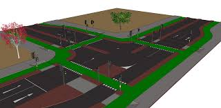 3 d road modelling for campaigners cycling embassy of great britain