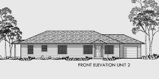 residential home floor plans one level duplex house plans corner lot duplex plans narrow lot