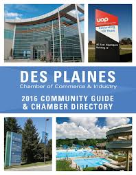 des plaines il chamber profile by town square publications llc