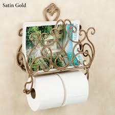 toilet paper holder with magazine rack key west series 12 surface
