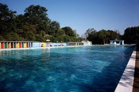 Outdoor Swimming Pool by