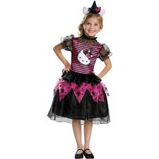 Halloween Kitty by Hello Kitty Witch Classic Child Halloween Costume Walmart Com