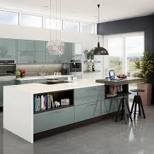 Blue Kitchens Integra Fusion Blue Kitchen Style Kitchens Magnet Trade