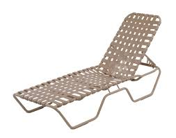 Straps For Patio Chairs by Country Club Chaise Lounge Cross Weave Country Club Chaise