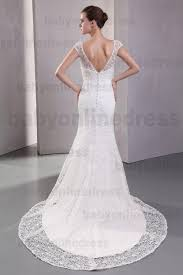 bridal backless lace mermaid wedding dresses buy 2016 white v
