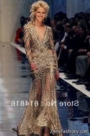 gold long sleeve prom dresses 2016 2017 b2b fashion