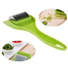 chinois outil cuisine nouveauté cuisine gadget outils roulant multi lame couteau à