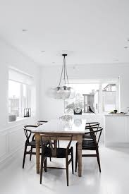 Black Dining Table White Chairs Best 25 Scandinavian Dining Chairs Ideas On Pinterest