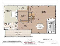 Pole Barn House Blueprints 4 Bedroom Barn House Plans 32 Cape With 32 X 22 Wing 2675 Sqft