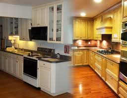 Small Kitchen Before And After Photos Small Kitchen Makeovers On A Budget Cheap Kitchen Design Ideas