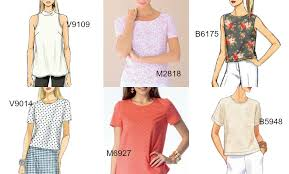 pattern hall of fame the basic shell top