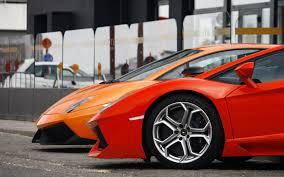Lamborghini Aventador Orange - lamborghini aventador gallardo orange red rim mirror lamborghini