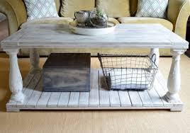 farmhouse coffee table set home dzine home diy rustic farmhouse coffee table