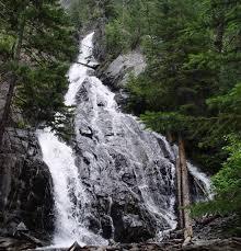Montana waterfalls images Pine creek falls near livingston waterfalls of montana jpg