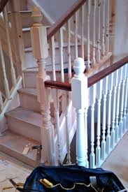 Newel Post To Handrail Fixing How To Install Handrail
