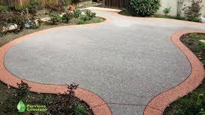 Color Concrete Patio by Creating A Curvaceous Polished Pervious Concrete Patio U2014 Bay Area