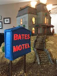 the bates motel and house get immortalized in gingerbread form