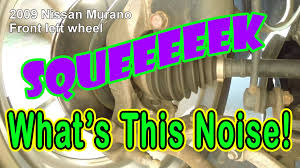 nissan murano 2005 youtube help rattle noise front of nissan murano youtube
