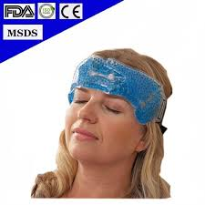 cooling headband 2016 hot selling microwavable reusable forehead cooling