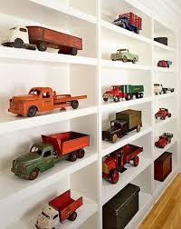 Vintage Car Collection On Shelves Jacksons Big Boy Room - Shelf kids room