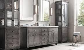Restoration Hardware Bathroom Cabinet by Restoration Hardware Bathroom Zinc Double Vanity Sink Carrera Sp