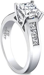 wide band engagement rings jeff cooper wide engagement rings and settings