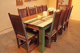 Reclaimed Dining Chairs Reclaimed Wood Dining Table And Chairs Marceladick