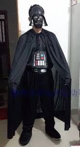 Darth Vader Halloween Costume Aliexpress Buy Free Shipping Star Wars Cosplay War Planet