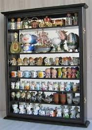 Curio Display Cabinets Uk New Black Wall Cabinet Display Case Knick Knacks Curio Glass Door