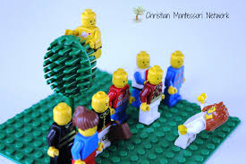 zacchaeus montessori inspired bible lesson christian montessori