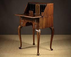 Queen Anne Secretary Desk by Small Queen Anne Desk C 1930 Antiques Atlas