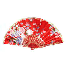held folding fans wholesale