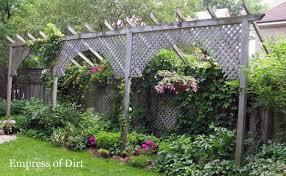 Privacy Ideas For Backyard with Garden Design Garden Design With Outdoor Privacy Screens For