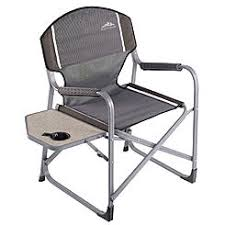 Folding Directors Chair With Side Table Maccabee Folding Sports Chair