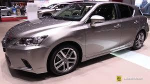 lexus hatchback non hybrid 2015 lexus ct200h hybrid exterior and interior walkaround 2015