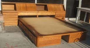 Platform Bed Plans Queen Bedroom Queen Size Captains Bed With Drawers Captains Bed Queen