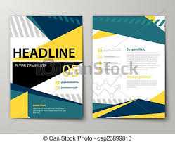 graphic design templates for flyers set of business magazine cover flyer brochure flat design