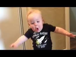 Running Baby Meme - watch a baby get terrified over his grandpas screaming roar youtube