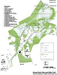 Kings Island Map Kings Park Hike U0026amp Bike Trail 2004 Kppc A Journey Through