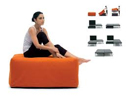 ottoman that turns into a chair ottoman that turns into bed incredible ottomans chairs that turn