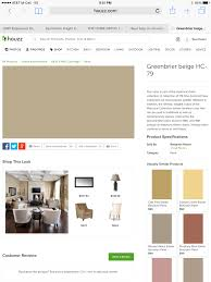 north facing room benjamin moore greenbrier beige hc 79 a