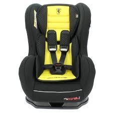 test siege auto 0 1 siège auto inclinable 0 18 kg avec protections latérales